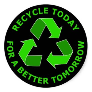recycling reduce pollution